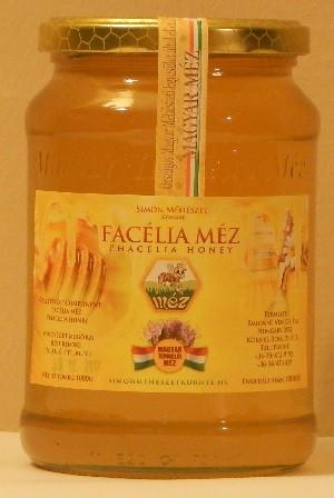 Facélia méz (1000g)